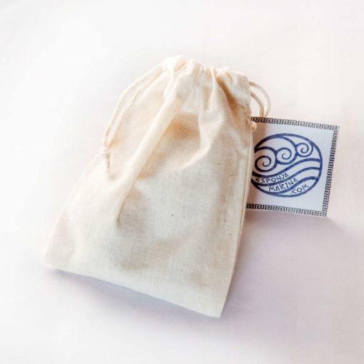 Envase esponja tampón menstrual